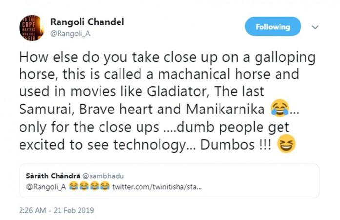 Rangoli Chandel defends Kangana Ranaut