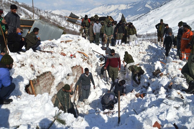 INDIA-KASHMIR-WEATHER-AVALANCHE
