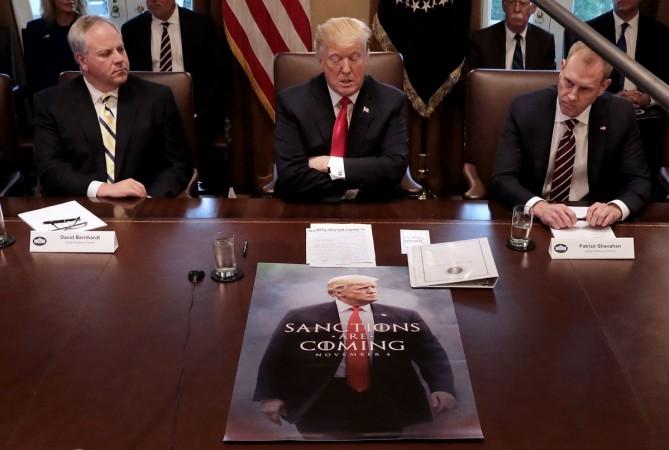 US Donald Trump