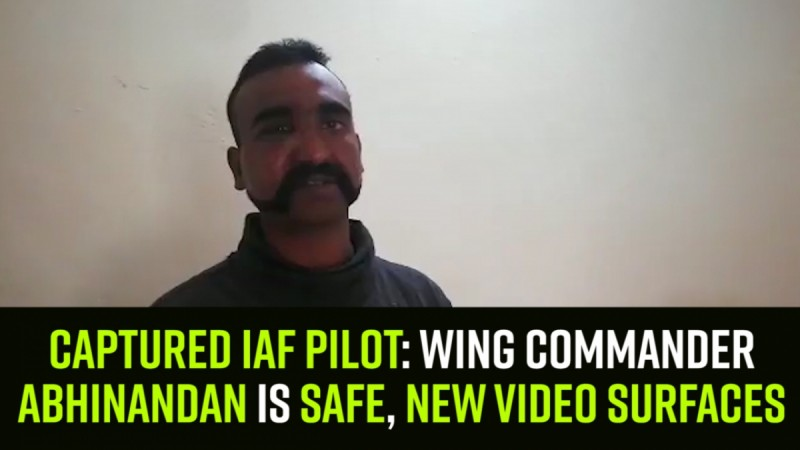 Captured IAF pilot: Wing Commander Abhinandan is safe, new video surfaces