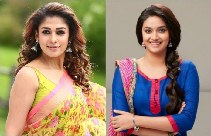 Nayanthara and Keerthy Suresh