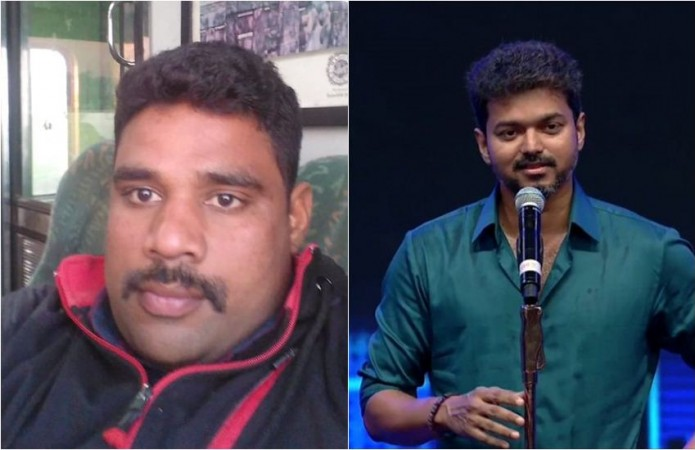 Vijay's special call to his army fan