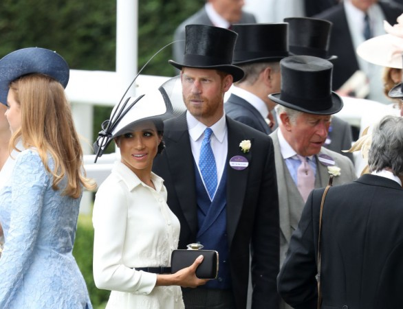 Meghan Markle sidelined at Trooping of Colour 2019