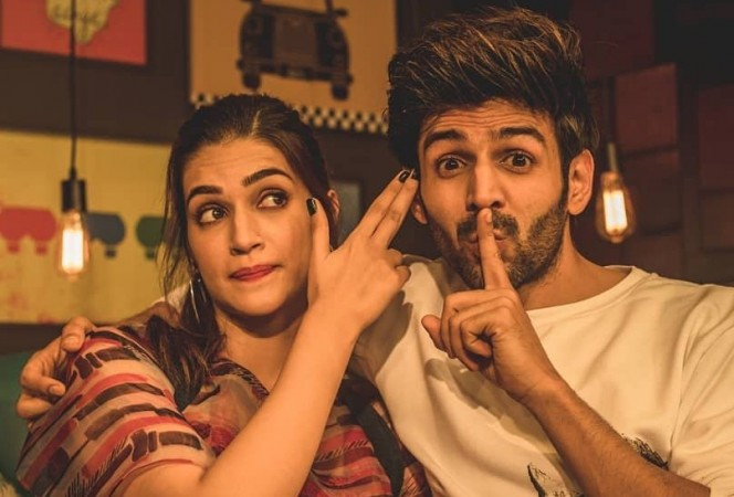Luka Chuppi Kriti Sanon Kartik Aaryan Luka Chuppi Sunday Box Office Collectiontwitter