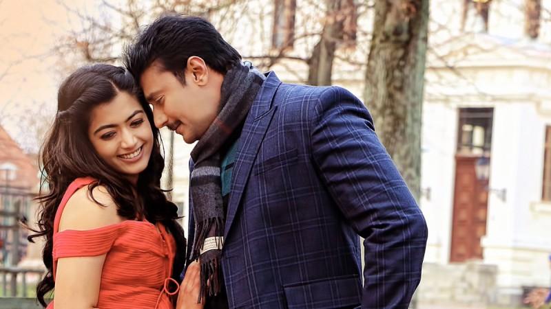 Darshan and Rashmika Mandanna in Yajamana