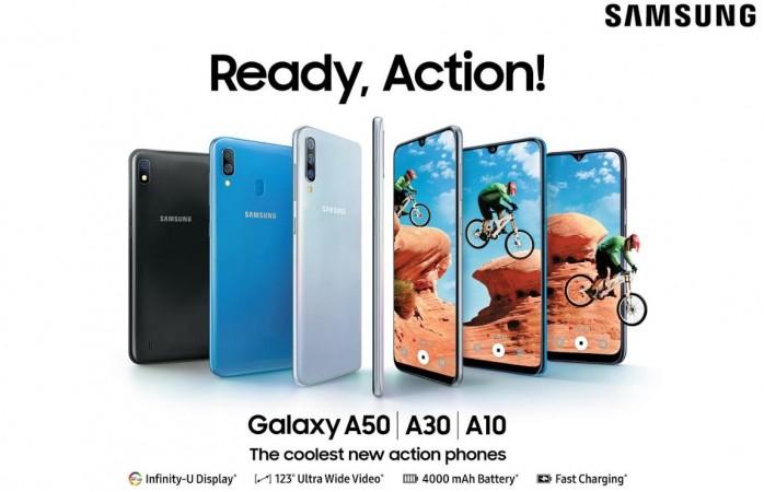 Samsung, Galaxy A50, Galaxy A30, Galaxy A10