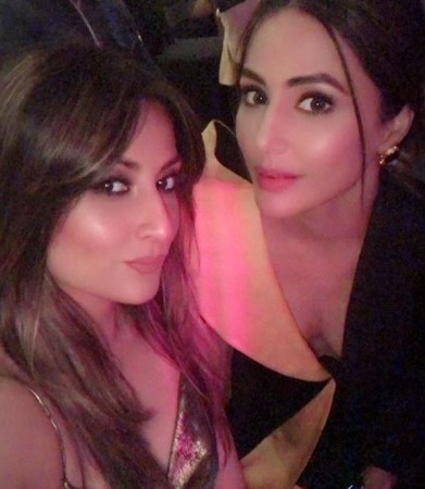 Urvashi Dholakia and Hina Khan