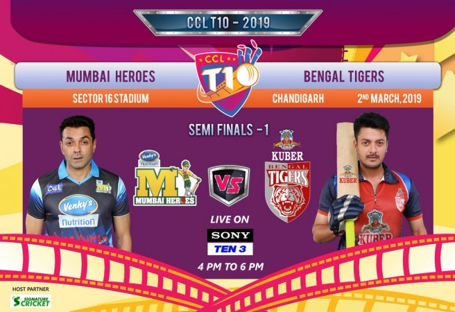 Celebrity Cricket League T10 Schedule|Results |Live Score