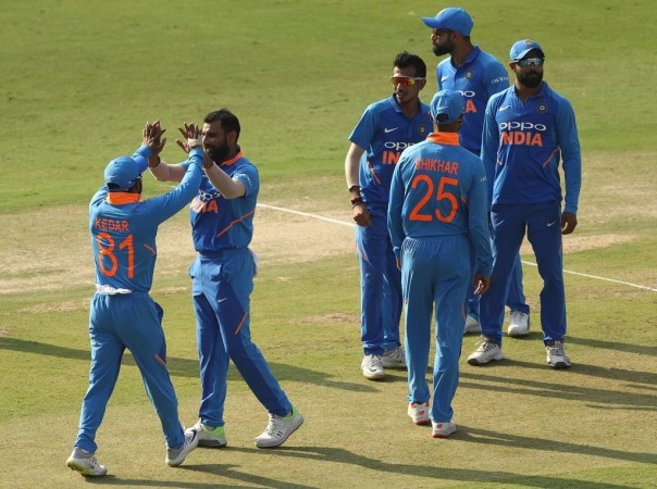 India cricket team Virat Kohli Mohammed Shami