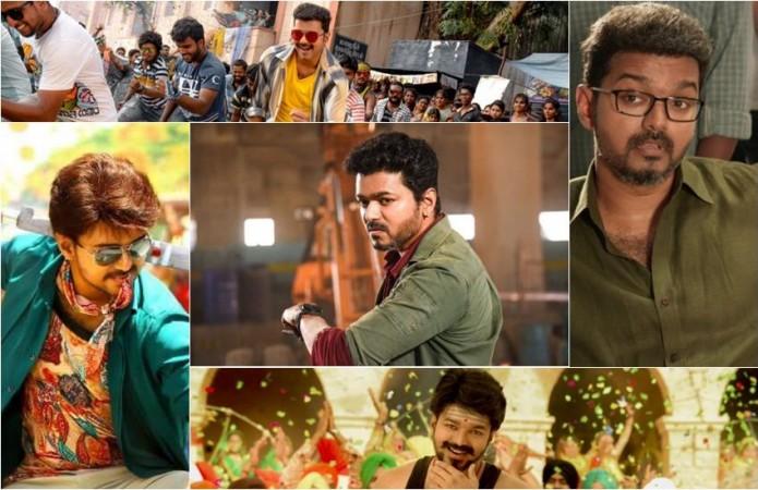 Vijay's looks in recent movies