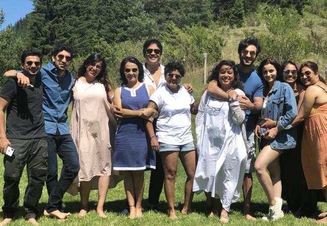 Nagarjuna with Brahmastra teammembers