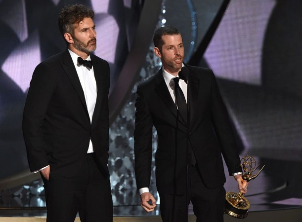 D.B. Weiss and Dan Benioff