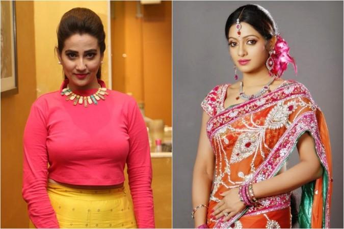 Anchors Manjusha and Udaya Bhanu