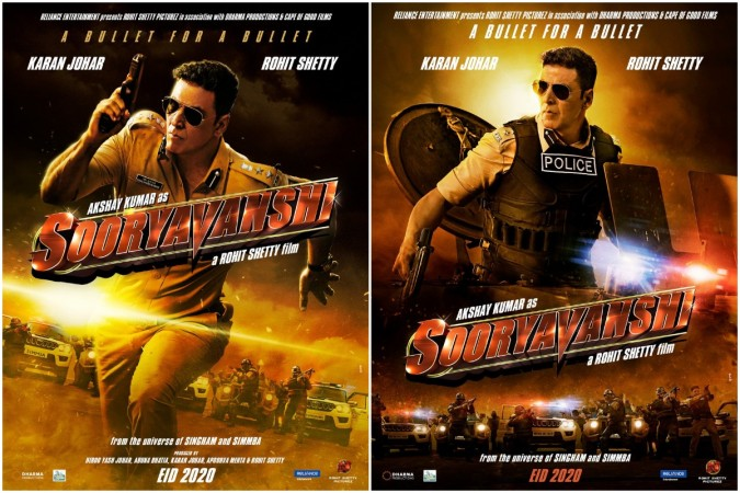 Akshay Kumar's Sooryavanshi posters