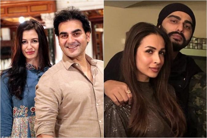 Giorgia Andriani, Arbaaz Khan, Malaika Arora, Arjun Kapoor