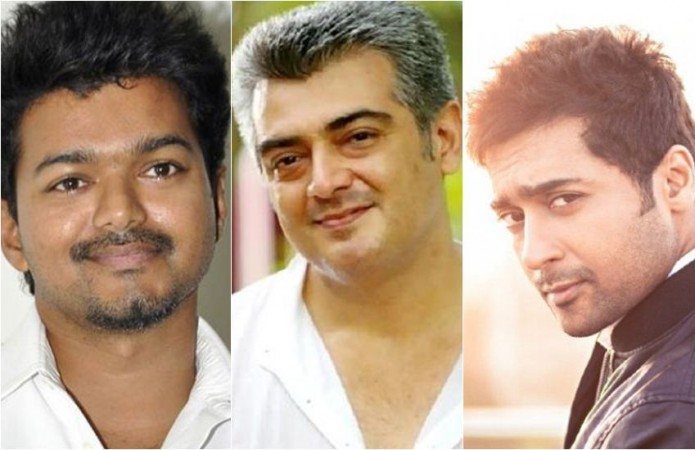 Vijay, Ajith and Suriya