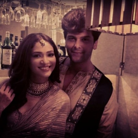 Ridhima Pandit and Kushal Tandon
