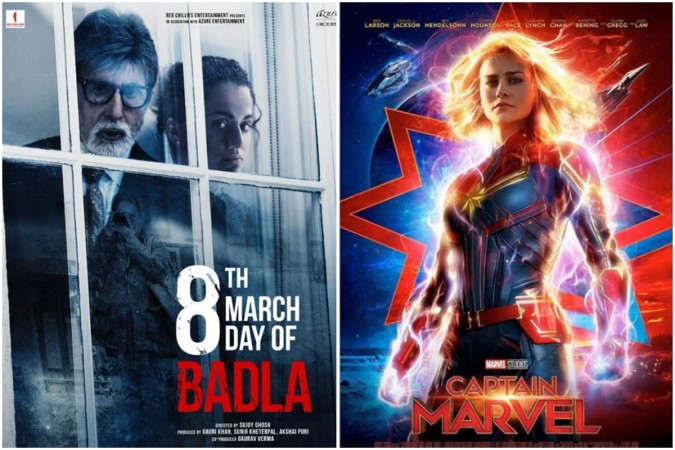 Badla vs Captain Marvel box office collection
