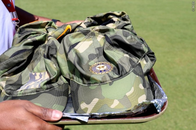 BCCI Indian Army India Cricket Team