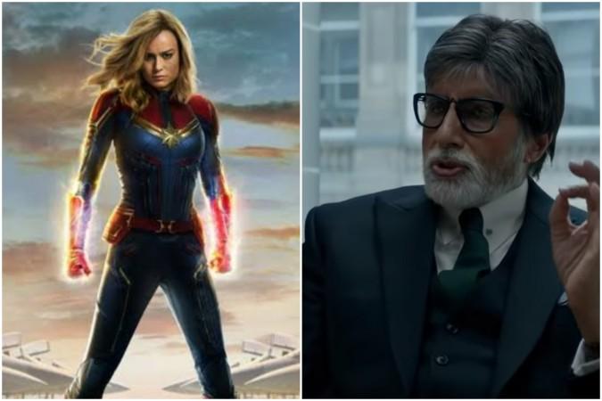 Badla vs Captain Marvel box office collection