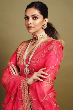 Deepika Padukone dressed up for the Akash Ambani Shloka Mehta wedding