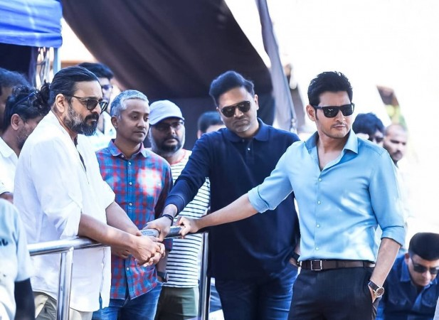 Mahesh Babu on Maharshi set