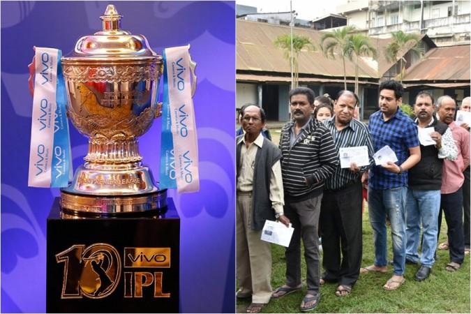 IPL trophy Lok Sabha elections