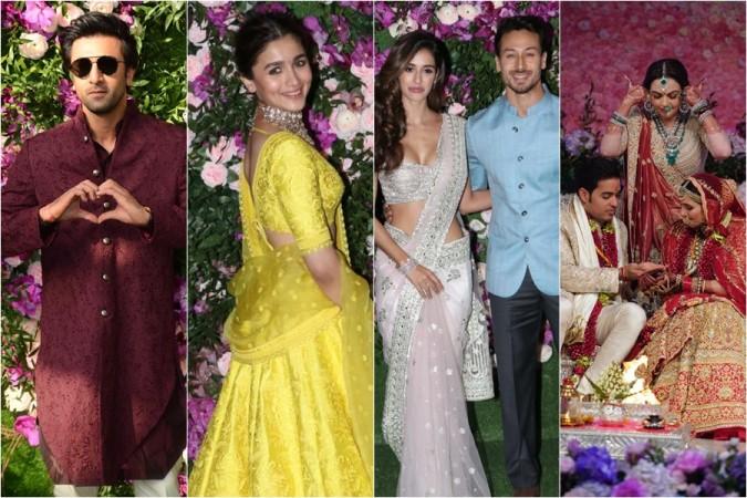 Ranbir Kapoor, Alia Bhatt, Disha Patani, Tiger Shroff, Akash Ambani, Nita Ambani, Shloka Mehta
