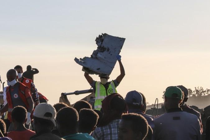 Ethiopian air crash