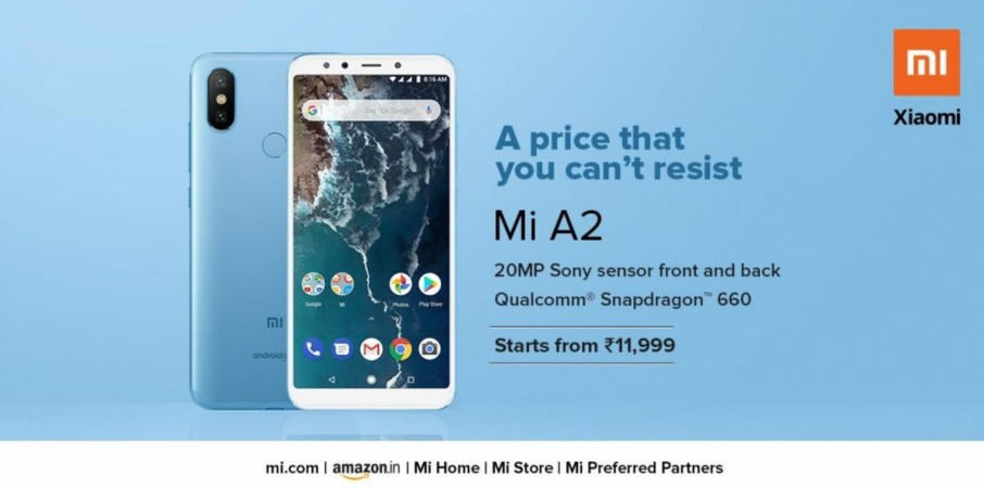 Xiaomi, Mi A2, Android One