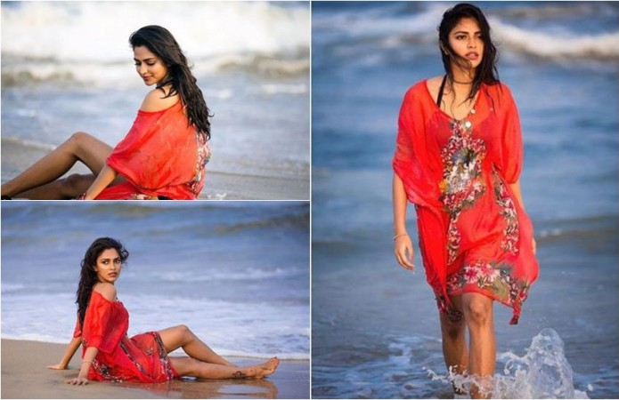 Amala Paul Hot in Bikini