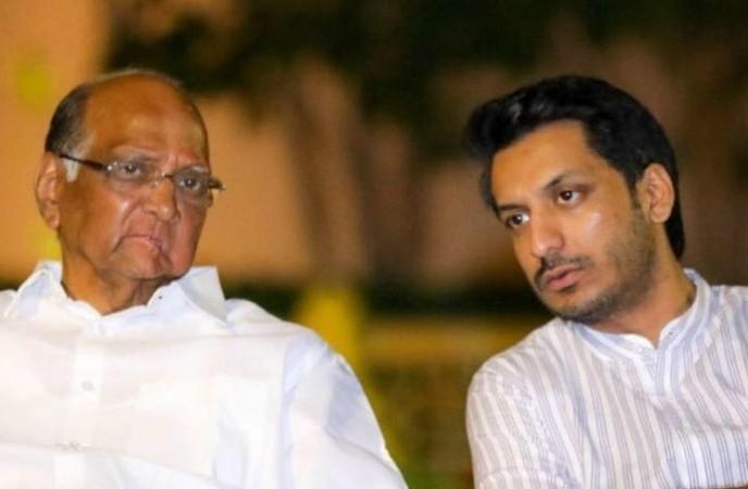 Sharad Pawar and Parth Pawar