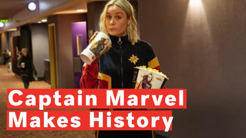 Captain Marvel Breaks Box Office Records