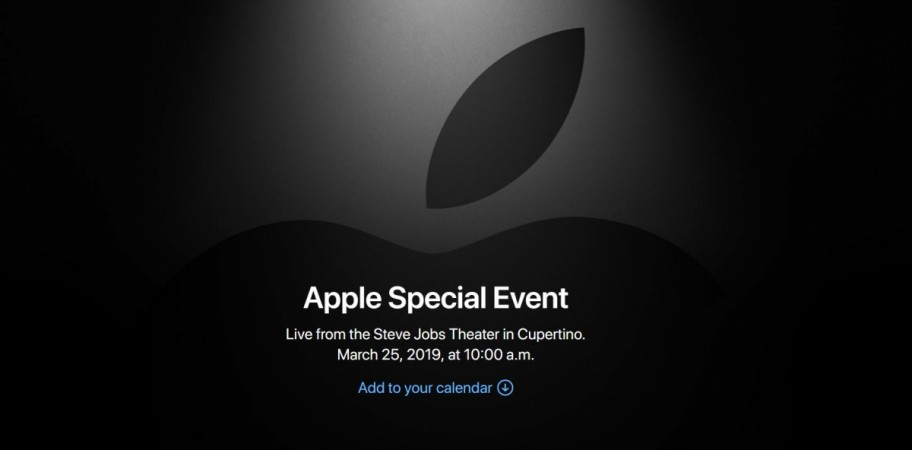 Apple, Special Event, March 2019
