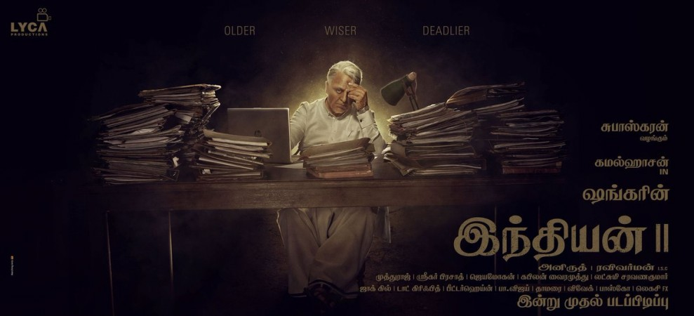 Kamal Haasan in Indian 2