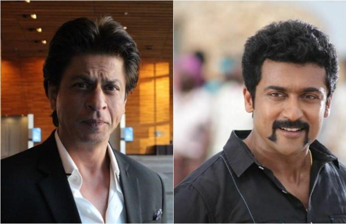 Shah Rukh Khan and Suriya