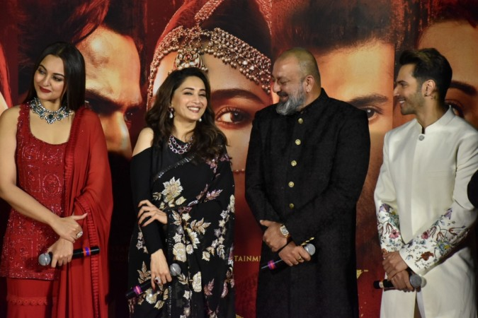 Alleged ex-lover Sanjay Dutt addresses Madhuri Dixit as ma'am on sets of Kalank