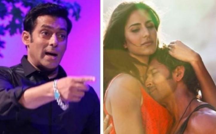 Salman Khan, Katrina Kaif, Hrithik Roshan