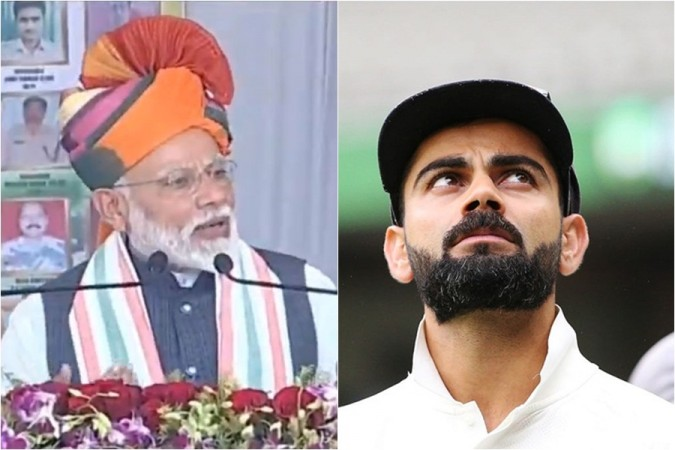 Narendra Modi Virat Kohli
