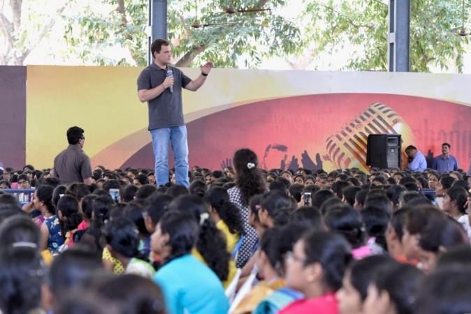 Rahul Gandhi Chennai