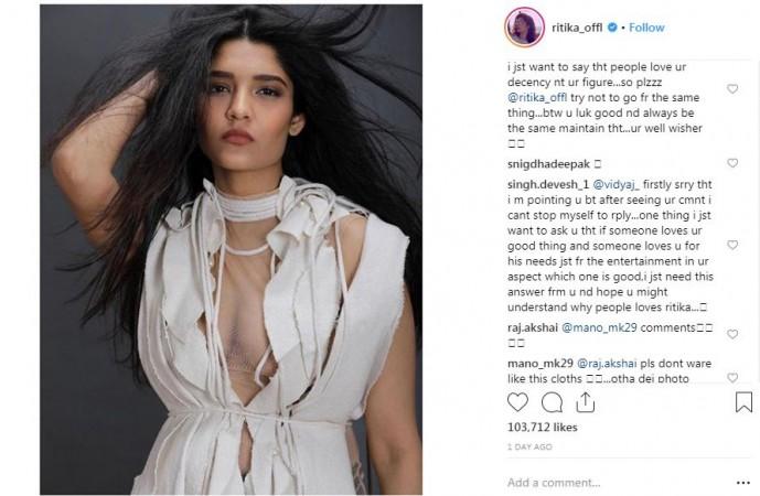 Ritika Singh Looking Hot