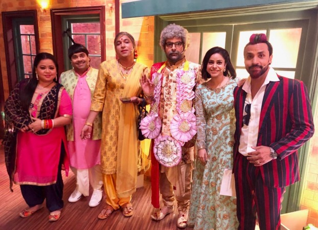 The team of Kapil Sharma Show