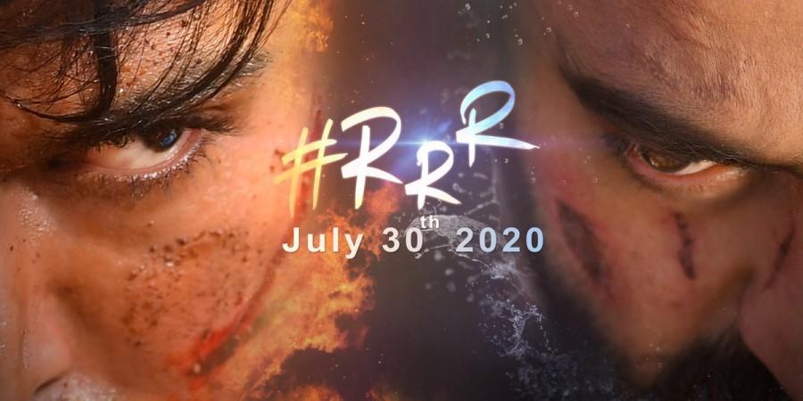 RRR first look poster