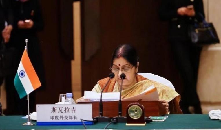 Minister of External Affairs Sushma Swaraj