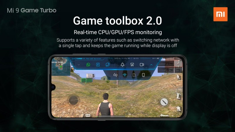 Game Turbo Mode in Mi 9
