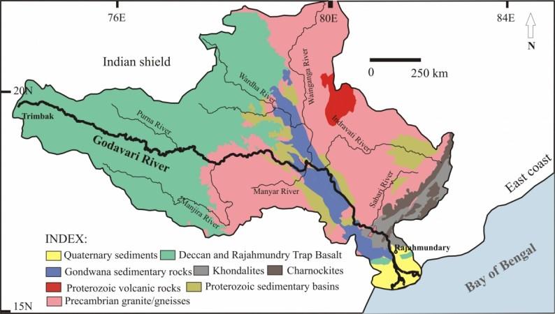 Krisha Godavari Delta Map