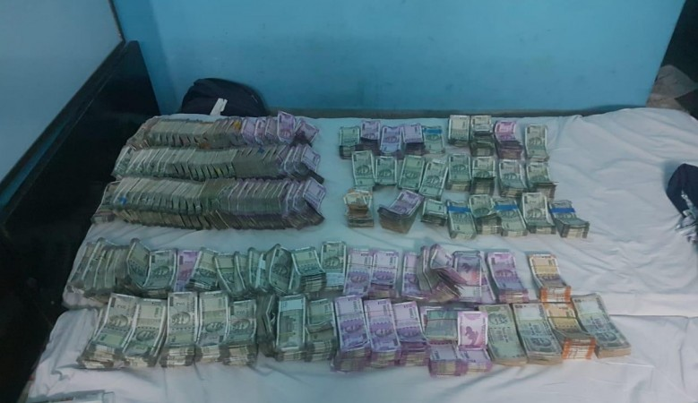 IT department seized more than Rs 2 crore from Hotel Rajmahal in Anand Rao circle, Bengaluru