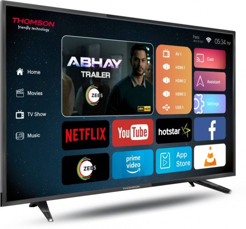 Thomson new TV launched in India