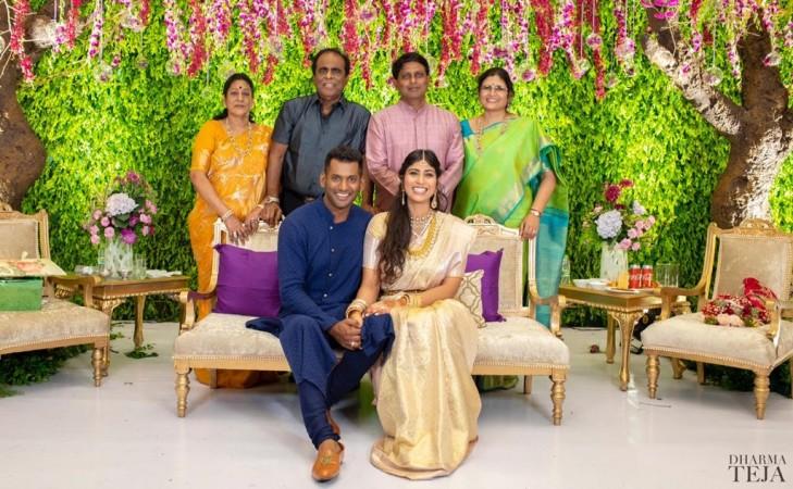 Vishal Krishna-Anisha's Engagement