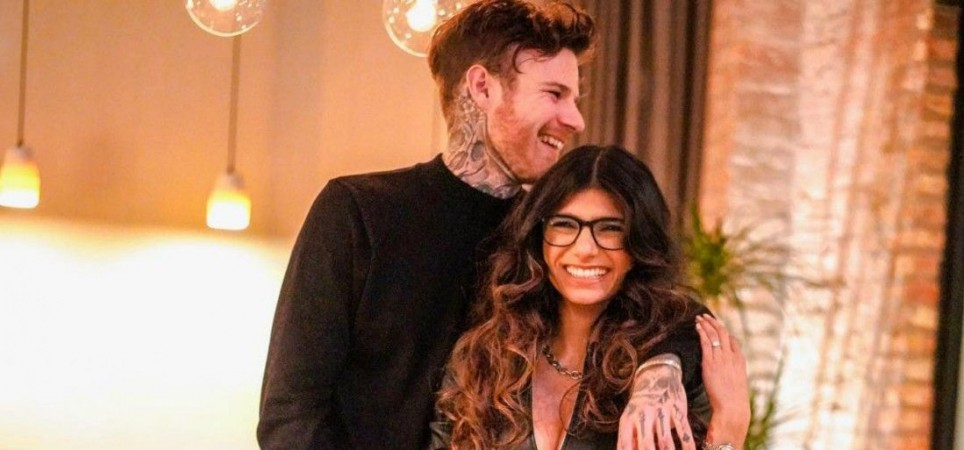 Mia Khalifa engaged
